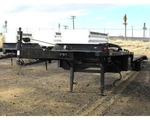 Kaufman RV Hauler Drop Deck Trailer