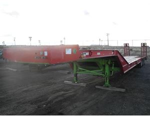 Pitts Equipment Trailer Lowboy Trailer