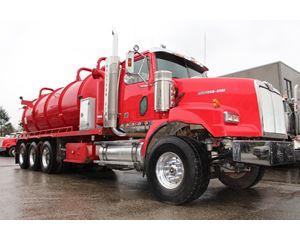 Western Star 4900 Hydrovac Tri-Drive Tanker