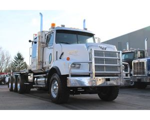 Western Star 4900 Winch Truck