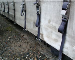 Supreme curtainside Truck Body