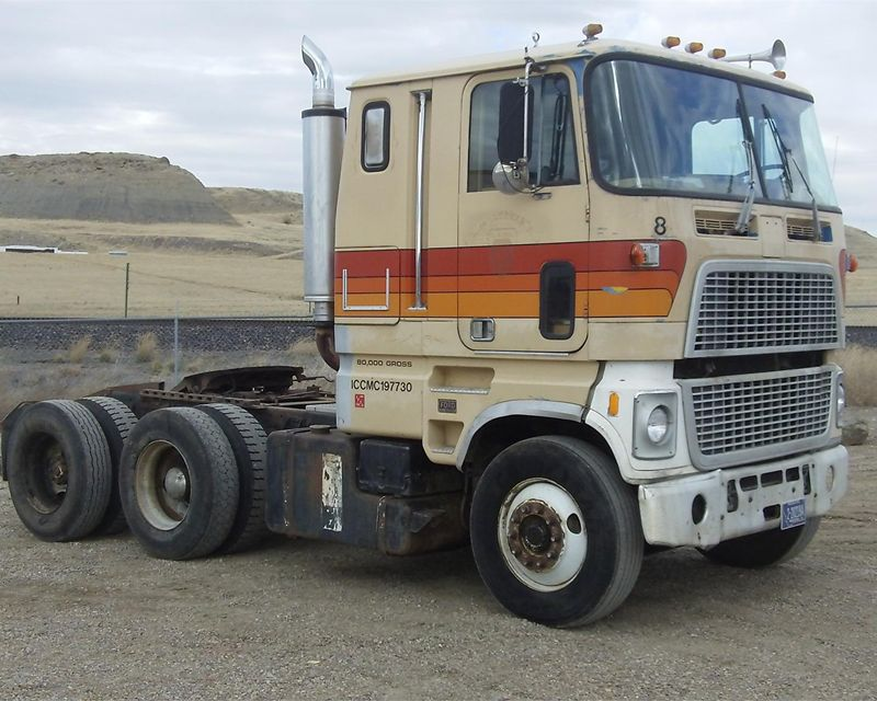 Ford cl 9000 cabover