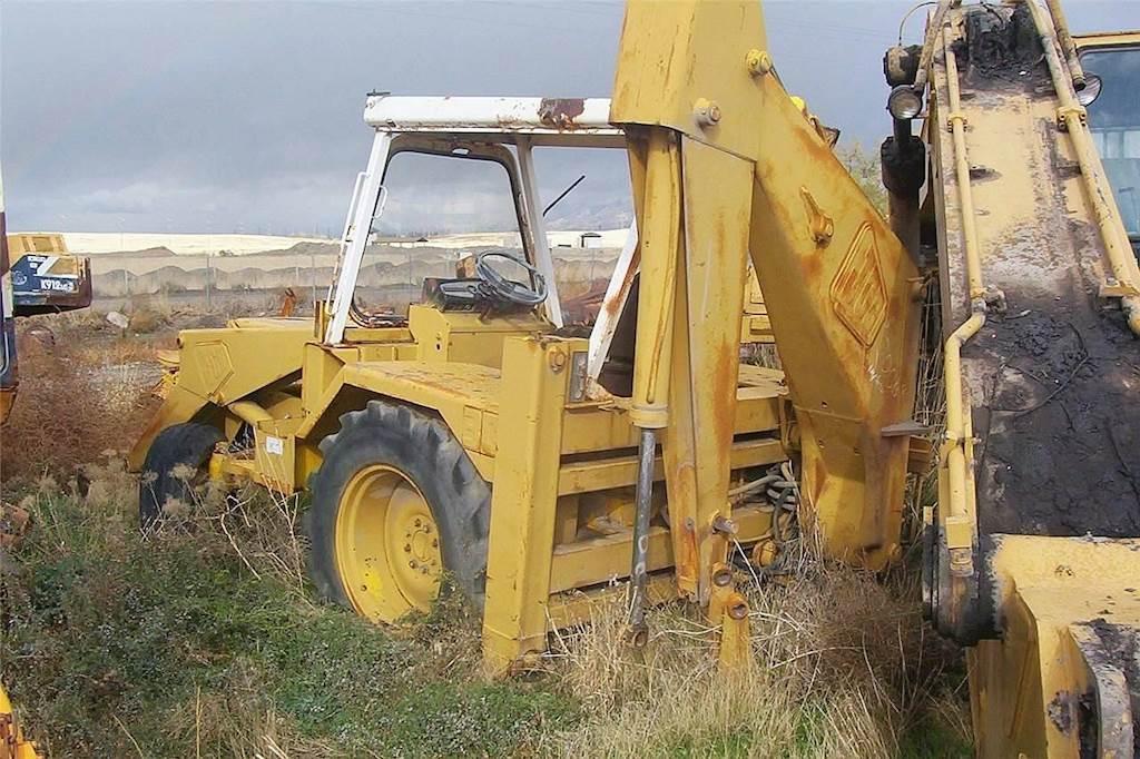 JCB 3C III Loader Backhoe Being Dismantled   Salt Lake City, UT