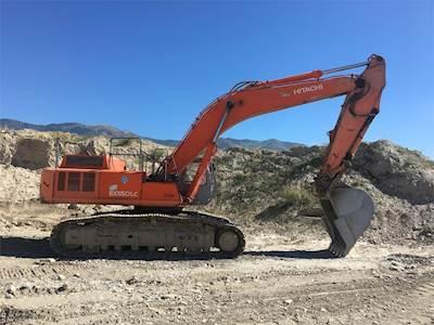 2000 Hitachi EX330LC-5 Excavator For Sale, 13,500 Hours | Columbus