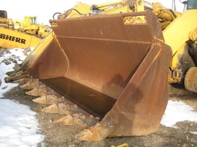 Backhoe Loaders Business & Industrial New 110 Inch General Purpose Quick Hitch Bucket