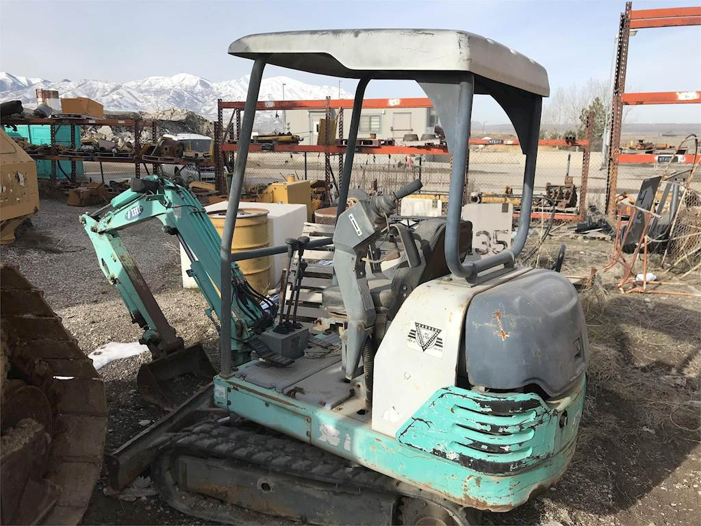 1996 IHI 18J Mini Excavator Being Dismantled | Salt Lake