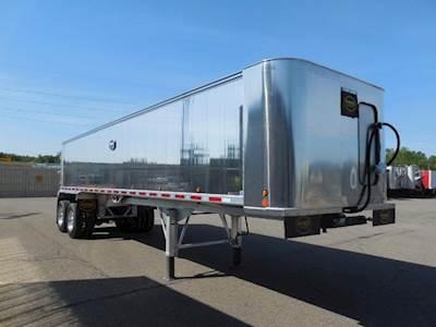 2020 MAC Trailer 40x96 Tandem Axle Aluminum Frameless End Dump Trailer -  Air Ride