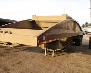 Load King LKD40-23 Bottom Dump Semi Trailer
