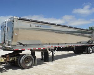 Trail King Super Hi-Lite Rolled Side Live Bottom Trailer Bottom Dump Semi Trailer