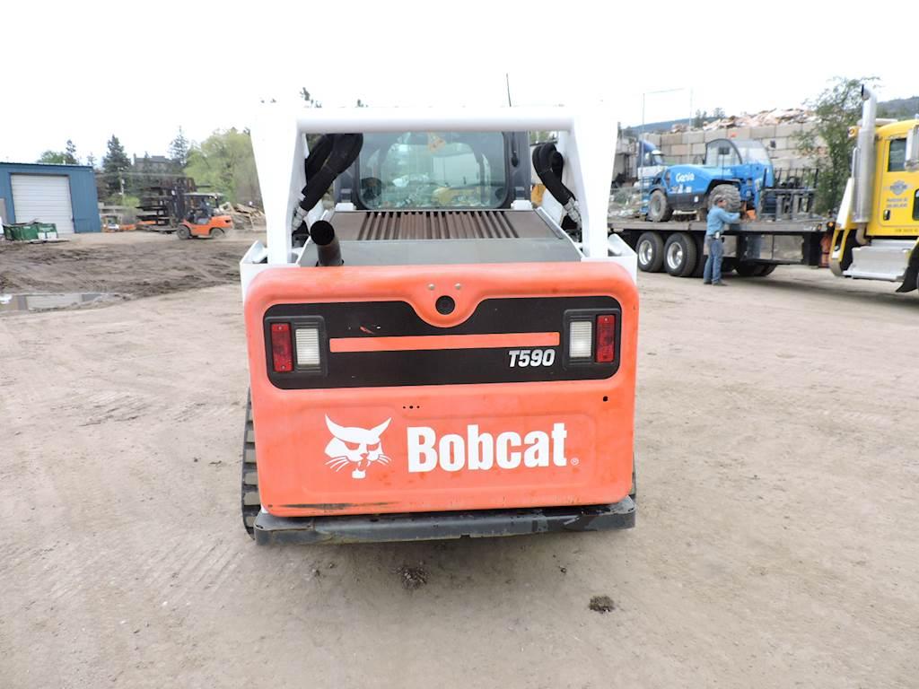 2015 Bobcat T590 Skid Steer For Sale, 330 Hours | Penticton