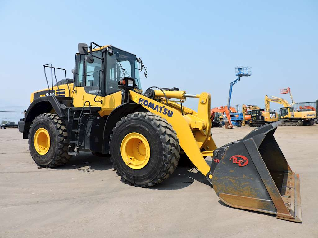2017 Komatsu Wa380 Wheel Loader For Sale 598 Hours