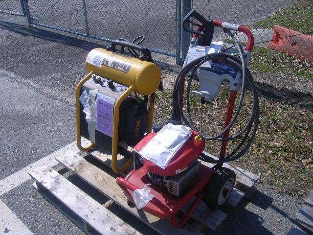 2017 Electric Air Compressor And Gasoline Pressure Washer