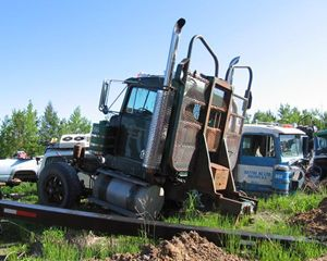 Kenworth W900 Parting Out - Trucks