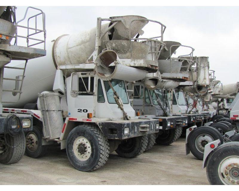 2001 Oshkosh Other Mixer Ready Mix Concrete Truck For