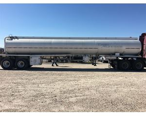 Fruehauf 4 Compartment Gasoline / Fuel Tank Trailer
