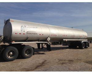 Fruehauf 9500 Gallon 4 Compartment Gasoline / Fuel Tank Trailer