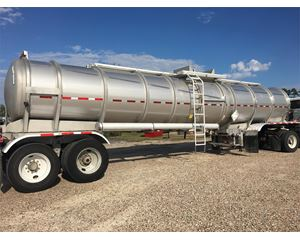Brenner 7500 Gallon MC307 SS Chemical / Acid Tank Trailer
