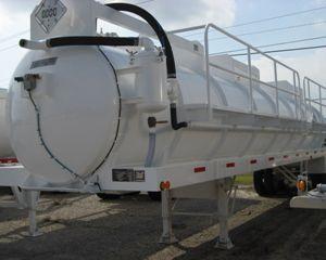 FWF DOT 407/412 Vacuum Tank Trailer