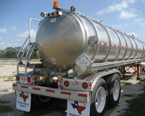 ITT 7,000 gallon Alum Vacuum Vacuum Tank Trailer