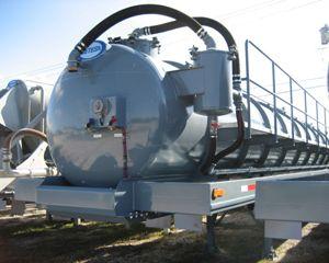Retesa 130 BBL / 5460 gallon Vacuum Tank Trailer