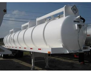 FWF 6300 Gallon DOT 407/412 MS Code Vacuum Tank Trailer