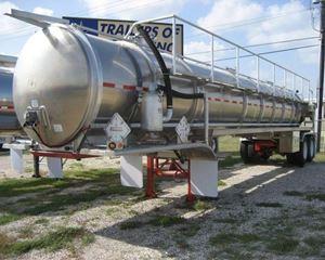 ITT 7000 Gallon Aluminum Vacuum Vacuum Tank Trailer