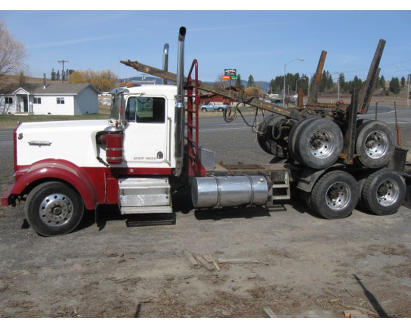 1993 Kenworth Logging Truck   Autos Post