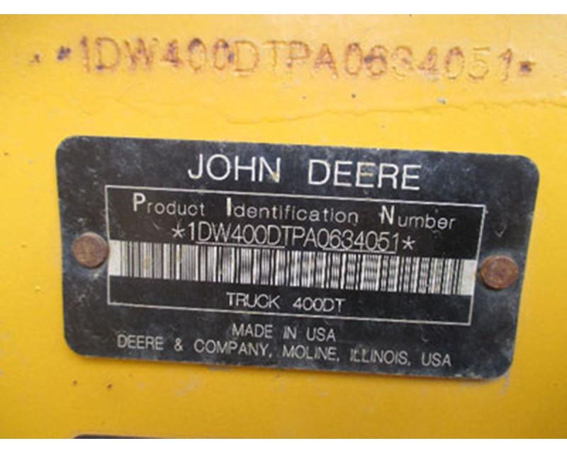 John Deere 400D Articulated Truck