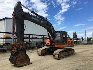 2000 hitachi 450 5lc road builder excavator for sale 13 299 hours