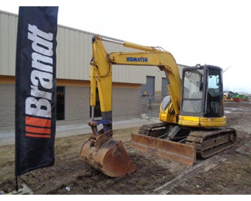 Komatsu 410G Mini Excavator