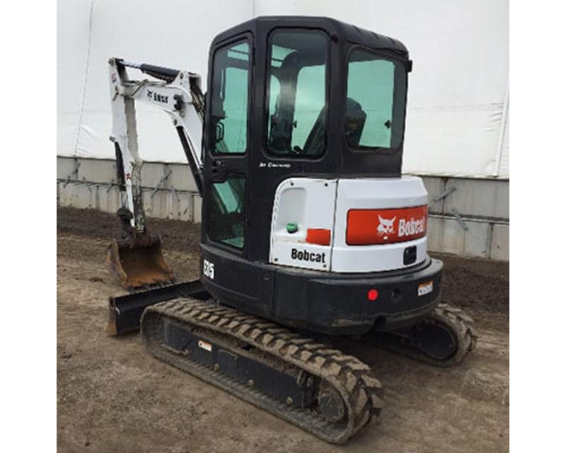 Bobcat E35 Mini Excavator