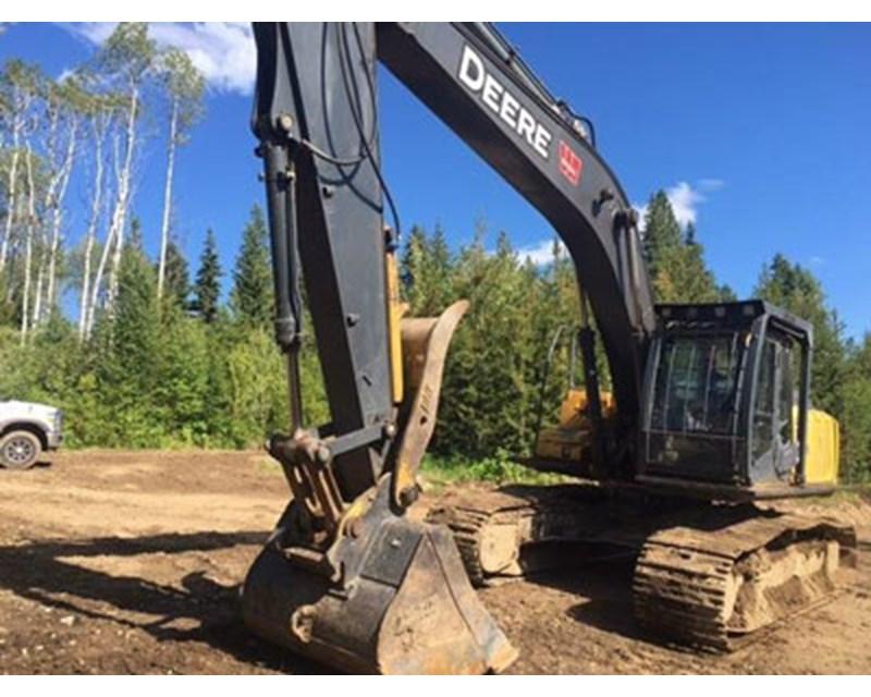 John Deere 270D Crawler Excavator