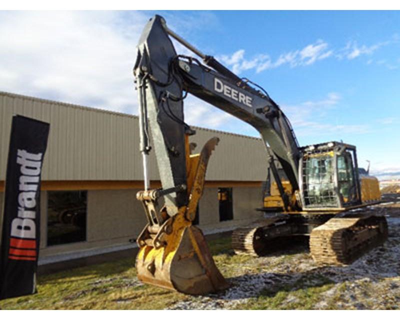 John Deere 350G Crawler Excavator