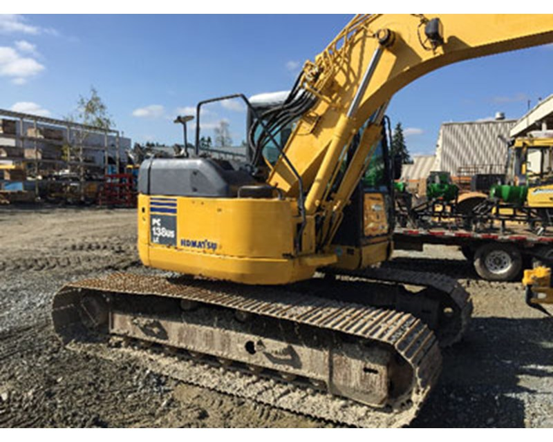 Komatsu PC138 Crawler Excavator