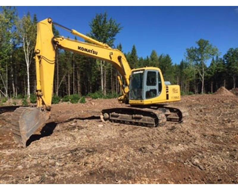 Komatsu PC150LC Crawler Excavator