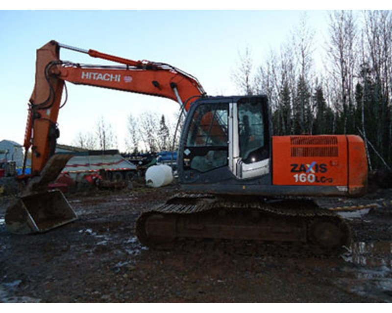 Hitachi 160 Excavator