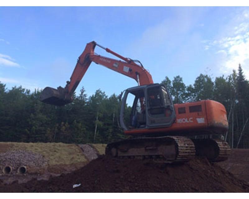 Hitachi EX160LC-5 Crawler Excavator