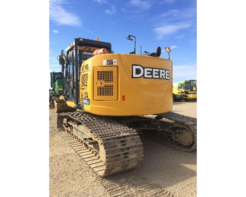 John Deere 245GLC Crawler Excavator