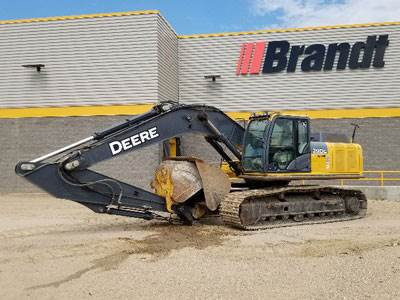Brandt Tractor Inventory of Equipment for Sale