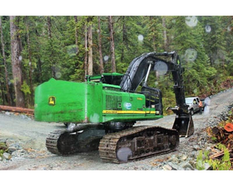 John Deere 3754DRB Road Builder Excavator