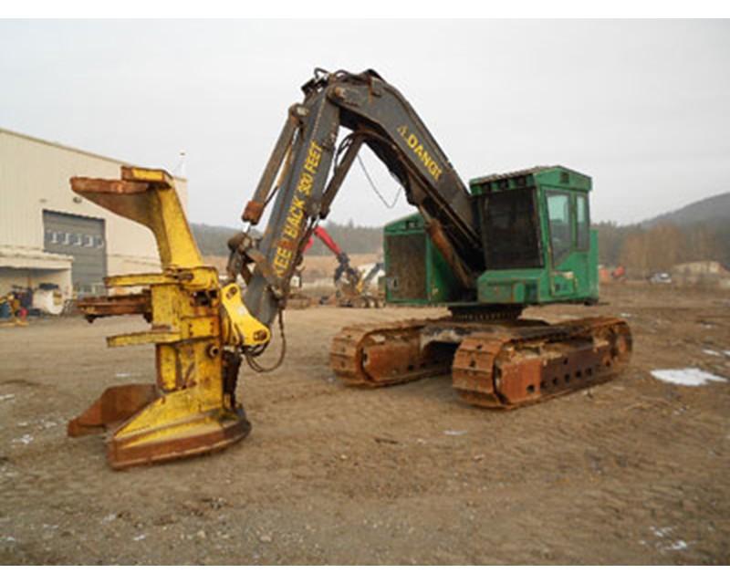Timberjack 608S Feller Buncher