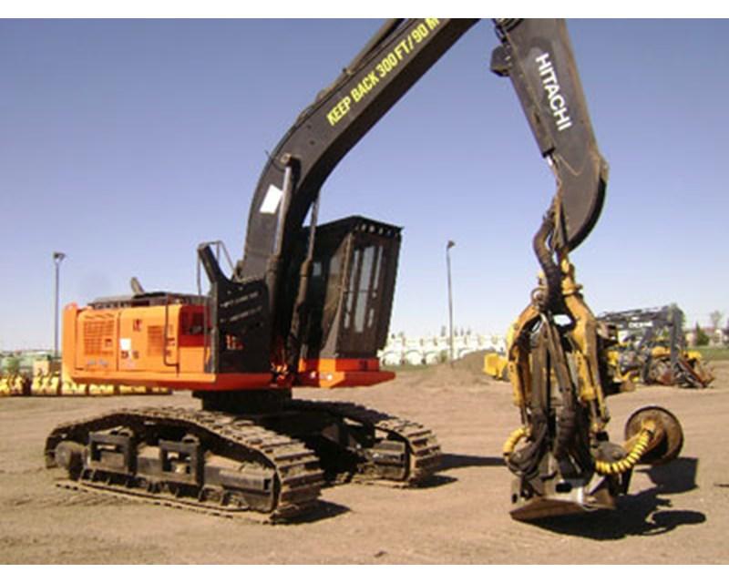 Hitachi 210 Harvester