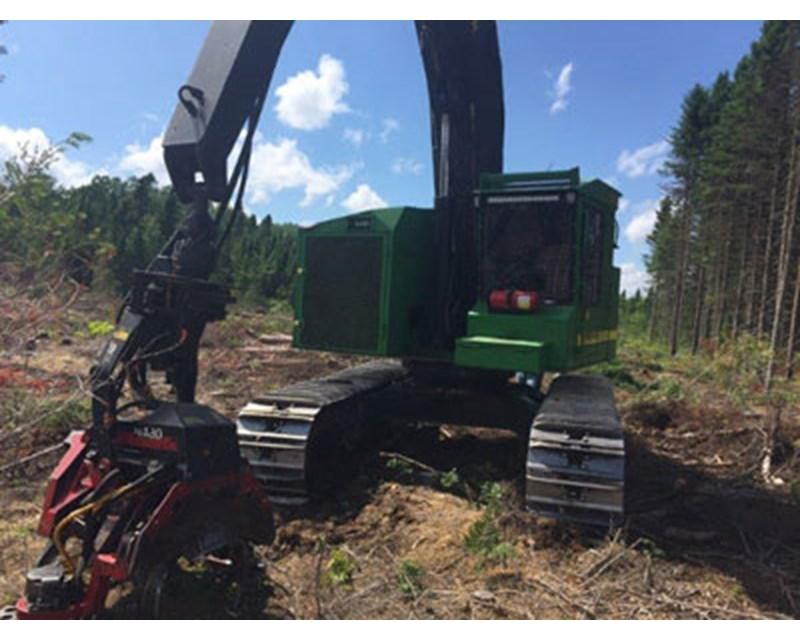 Timberjack 608S Harvester