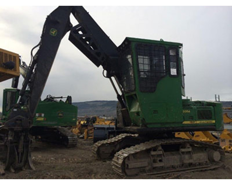 John Deere 2054 Log Loader