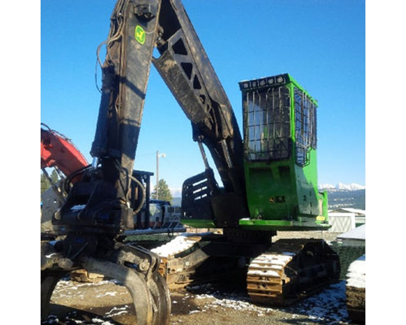 John Deere 2154D Log Loader