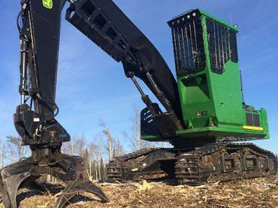 2012 John Deere 2954d Log Loader For Sale 5 100 Hours