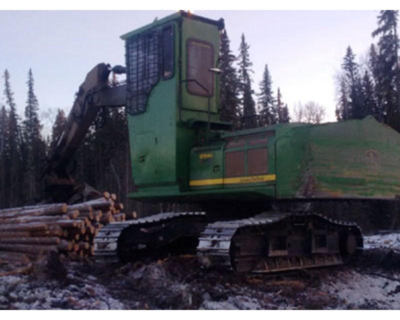 John Deere 3754D Log Loader