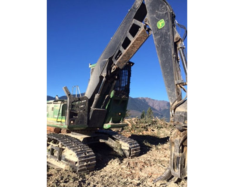 John Deere JD 2154D Log Loader