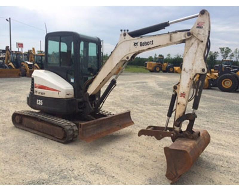 Bobcat E35M Mini Excavator