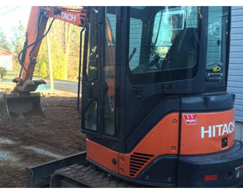 Hitachi 35U Mini Excavator
